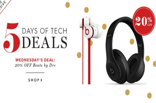 Chapters Indigo 20% Off Beats by Dr.Dre Headphones