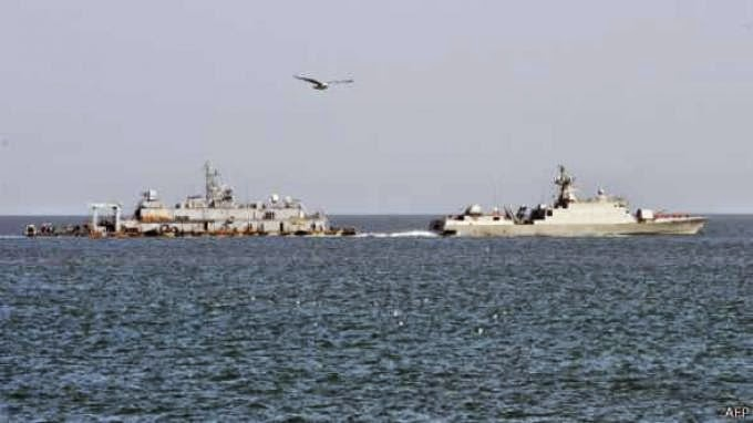 Kapal Korea Selatan beberapa kali terlibat pertikaian dengan kapal Korea Utara dekat Pulau Yeonpyeong