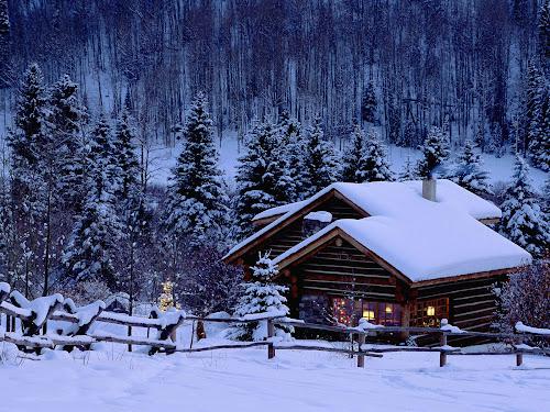 gambar-gambar Musim salju indah