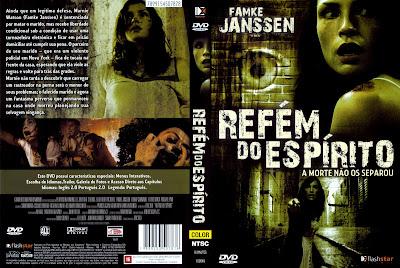 Refém Do Espírito DVD Capa