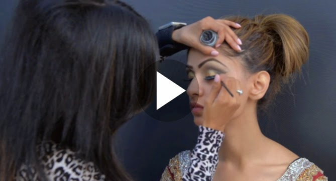 Here we are going to share with you her latest bridal makeup tutorial.
