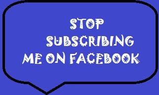 Stop People Subscribing to You on Facebook