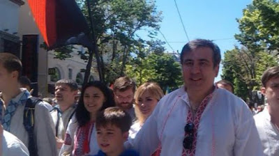 The Cabinet proposed to appoint Saakashvili as the head of the Odessa Regional State Administration