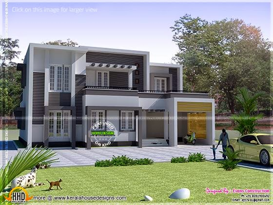 Modern house Thrissur