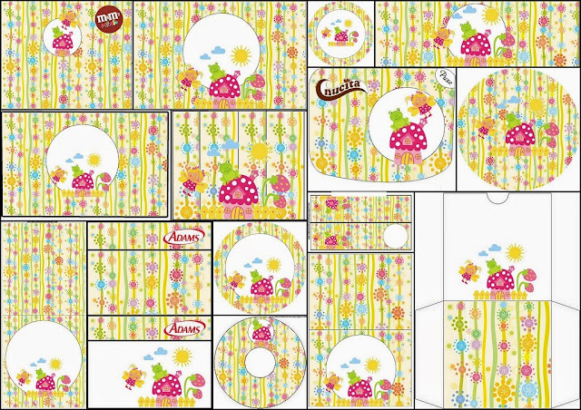 Enchanted Garden: Free Printable Candy Bar Labels.