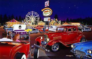 pinturas-realistas-de-paisajes-con-carros