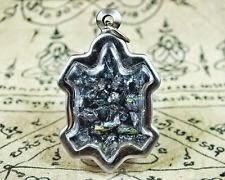 Magic Amulet Relics Leklai Naga Turtle Case Pendant Good Buddha Life Success