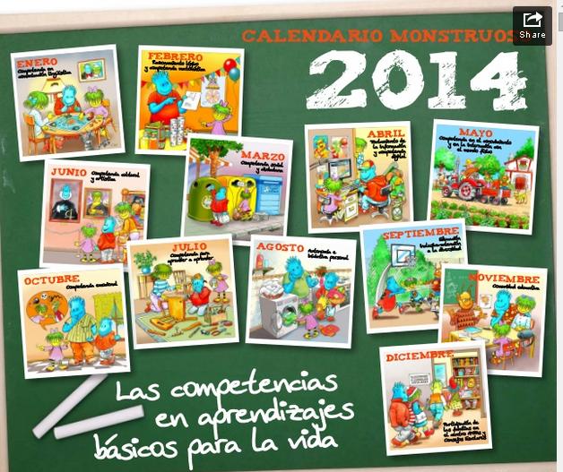 COMPETENCIAS BÁSICAS EN FAMILIA 2014