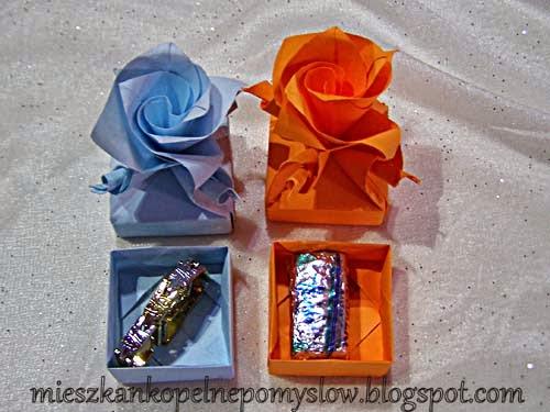 mini pudełeczka, ozdobne pudełeczko, pudełko, origami, origami 3d, origami modułowe, moduł, kusudama, podziękowania dla gości, dekoracja, z papieru, dekoracje z papieru, składanie papieru, kursy, DIY