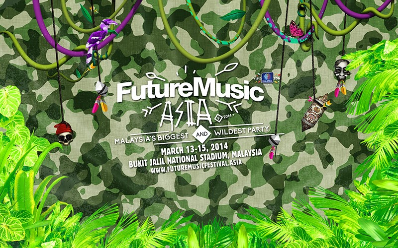 Future Music Festival Asia 2014 March 13-15, 2014 Bukit Jalil national Stadium