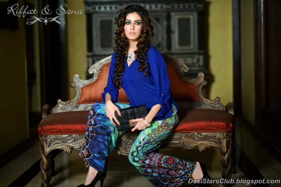 Sana Salman Latest Winter Dress Collection for Women