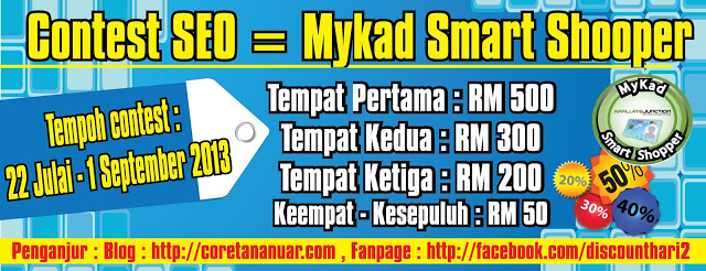 MyKad Smart Shopper sehebat The Conjuring!