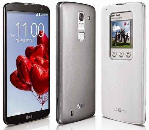 LG G Pro 2 Spesifikasi dan Harga Smartphone LG G Pro 2 di Indonesia