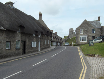 Village at Corfe Castle