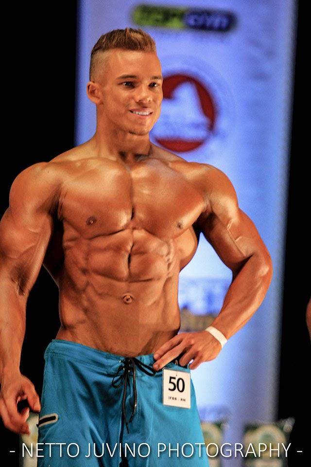 O pernambucano competiu na categoria Men's Physique até 1,70 m. Foto: Netto Juvino