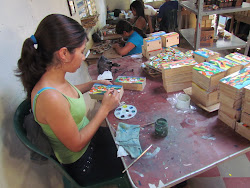 Artisan workshop in Las Palmas, El Salvador