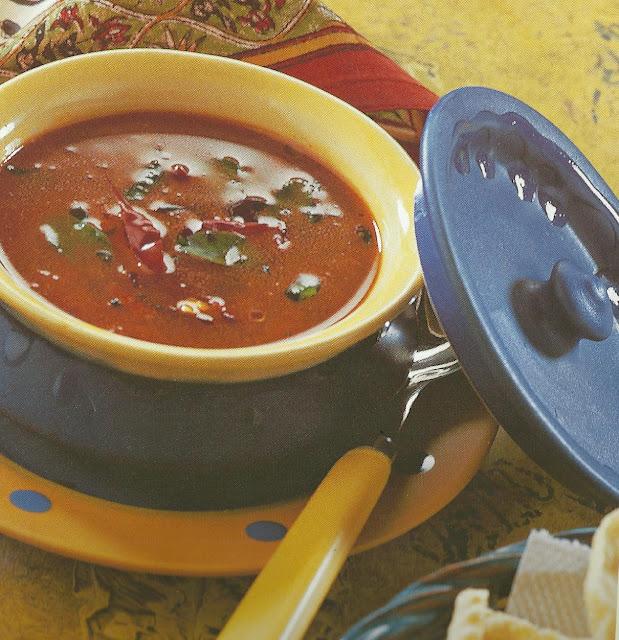 Microwaved Tomato Rasam