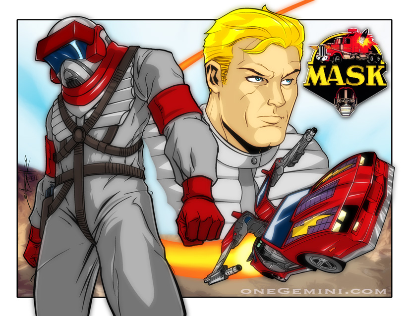 M A S K Cartoon Characters : Dsng s sci fi megaverse switchblade redesign from the