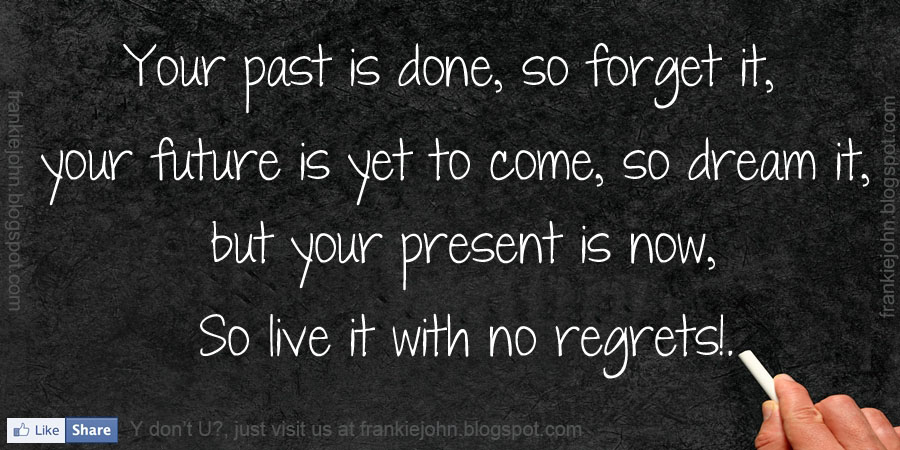 Forget The Past Quotes Amazing Your Past Is Done So Forget It Your Future Is Yet To Come So
