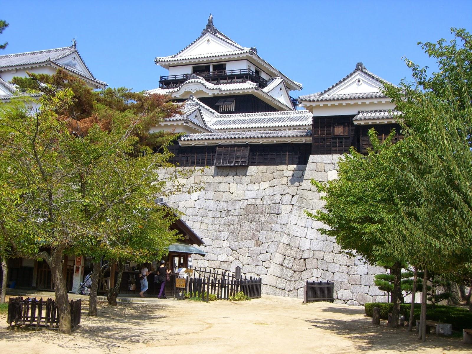افضل عشرة قلاع في اليابان
