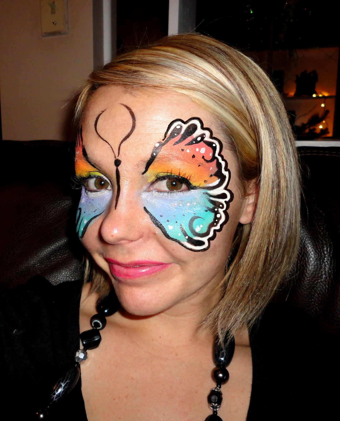 Face painting kat birthday parties don 39 t have to be for Face painting for parties