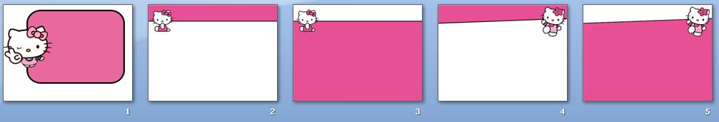 hello kitty powerpoint designs