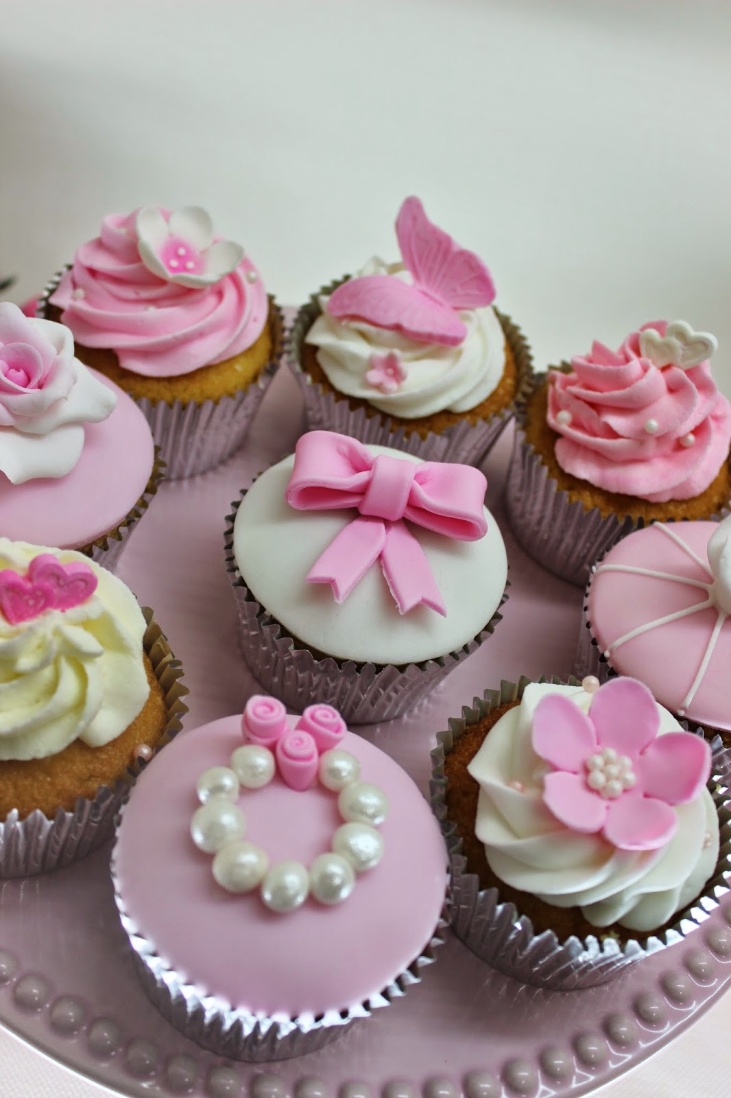 Violeta Glace Cupcakes Tematicos