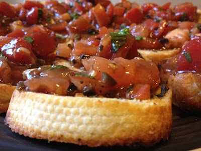 Maggiano's Inspired Bruschetta Recipe