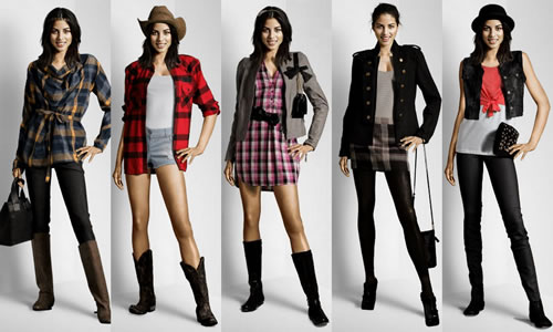 Looks country feminino
