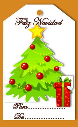 Dise os isa etiquetas o tags de navidad gratis - Imagenes de navidad para imprimir gratis ...
