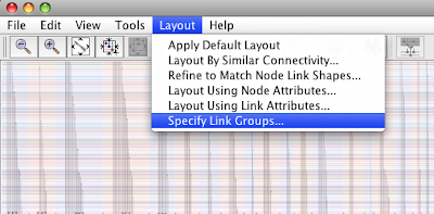 BioFabric Specify Link Groups