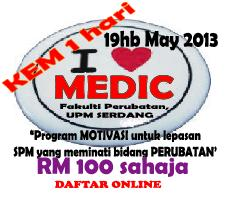 I &#39;LOVE&#39; MEDIC 2013 ! DAFTAR SINI