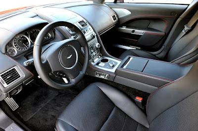 Interior del Aston Martin Rapid E Concept
