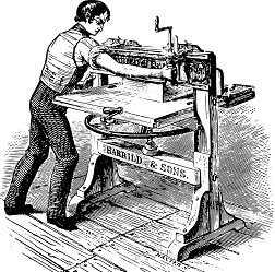 Impresora antigua