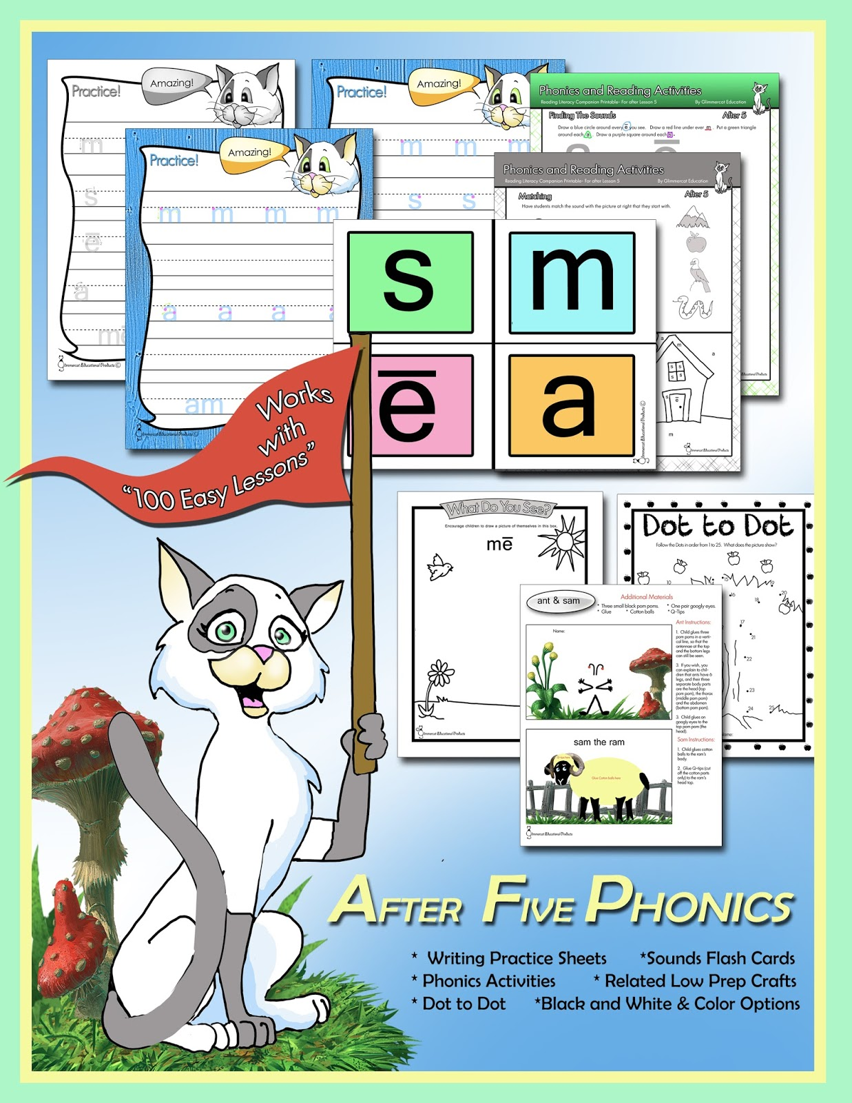 Printables Teach Your Child To Read In 100 Easy Lessons Worksheets glimmercat more printables for teach your child to read in 100 most children should be able do these after completing the first five lessons of how 1
