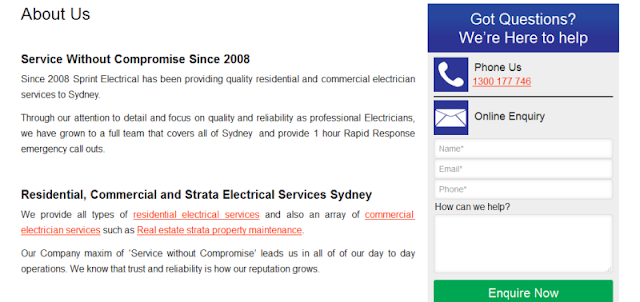 reputable licensed electricians in Sydney
