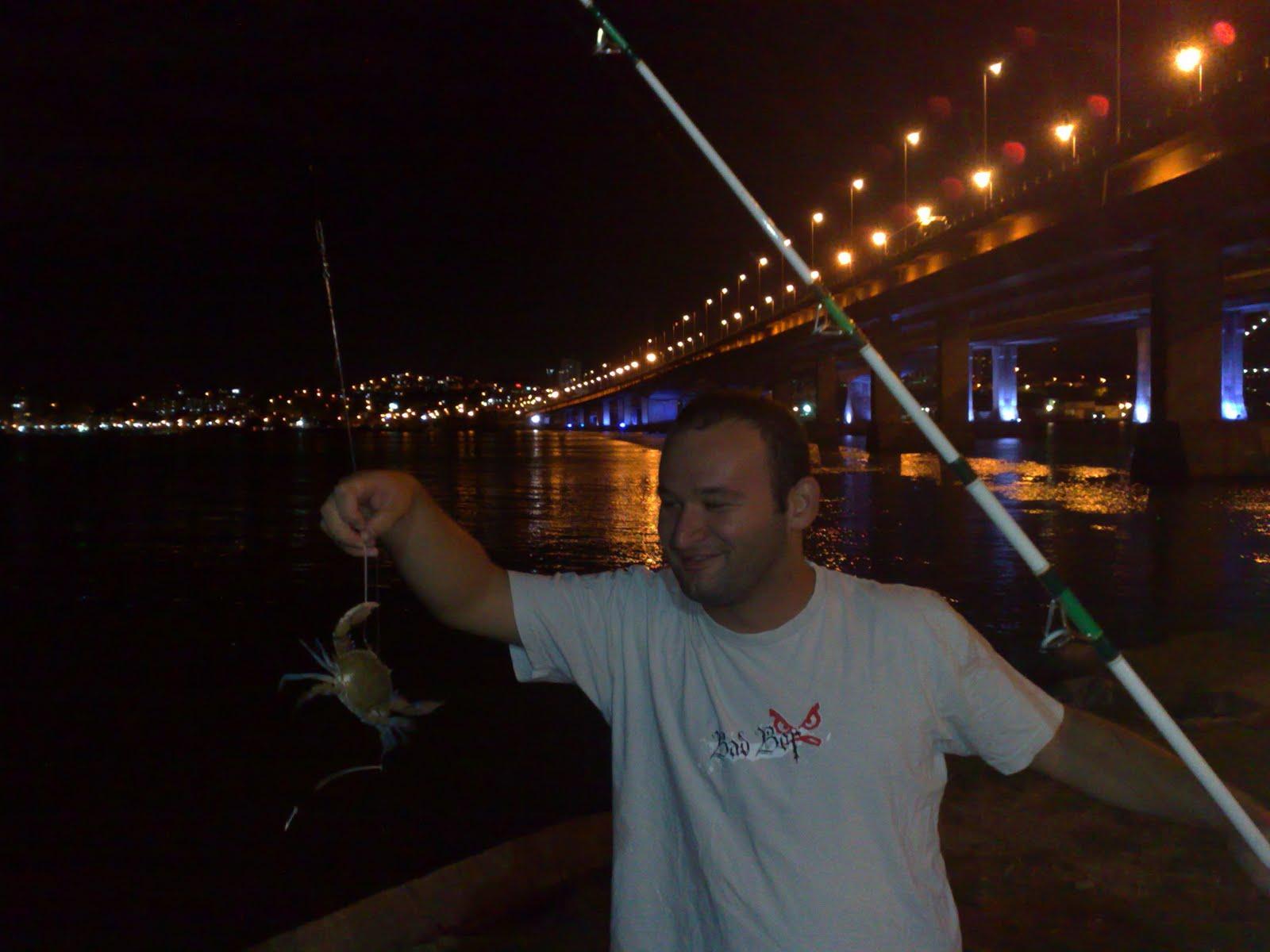 pesca litoral pescaria ponte pedro ivo campos