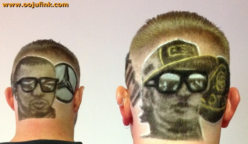 Hair Tattoos By Oojufink Cardigan UK The HairCut Web