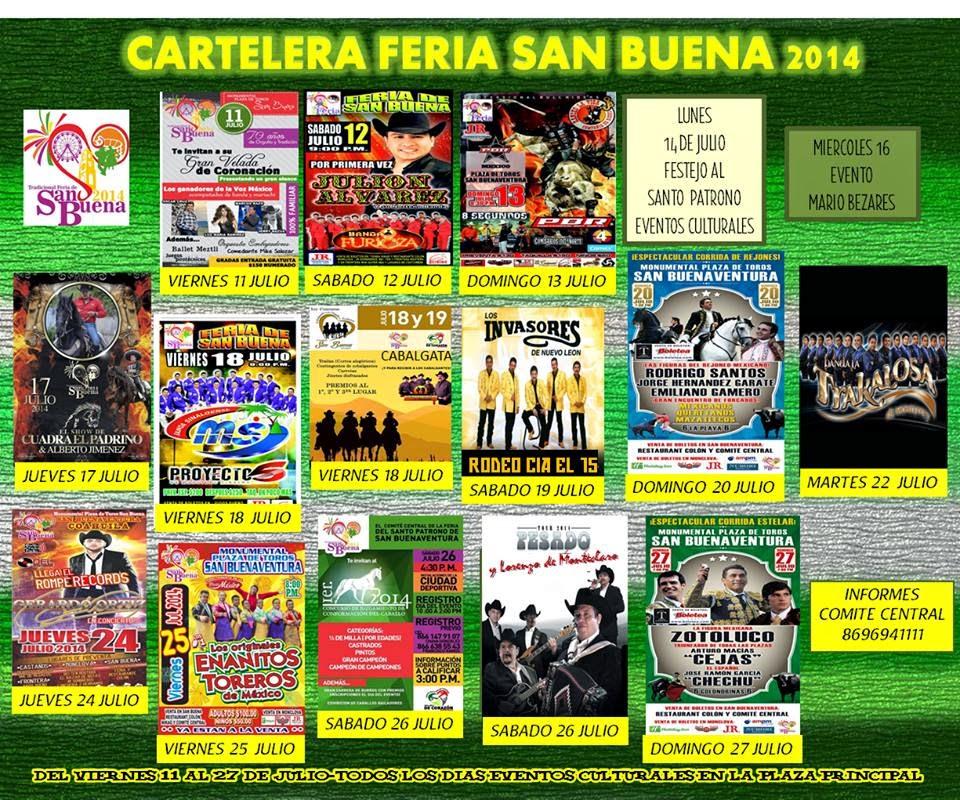 Programa Feria San Buena 2014