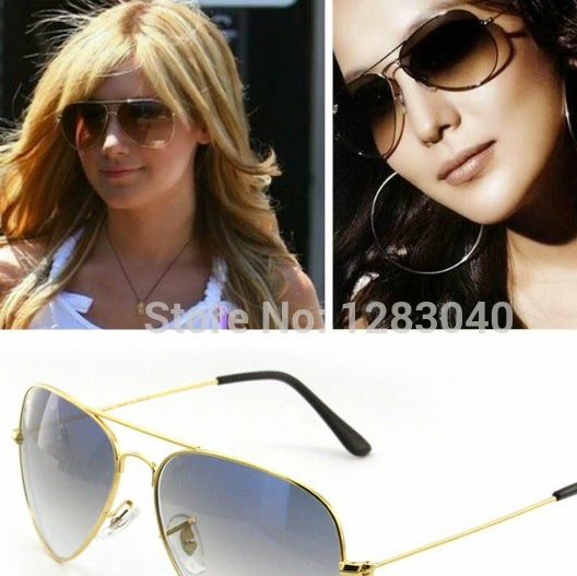 Высокое качество мужские женские авиатор солнцезащитные очки градиент линзы