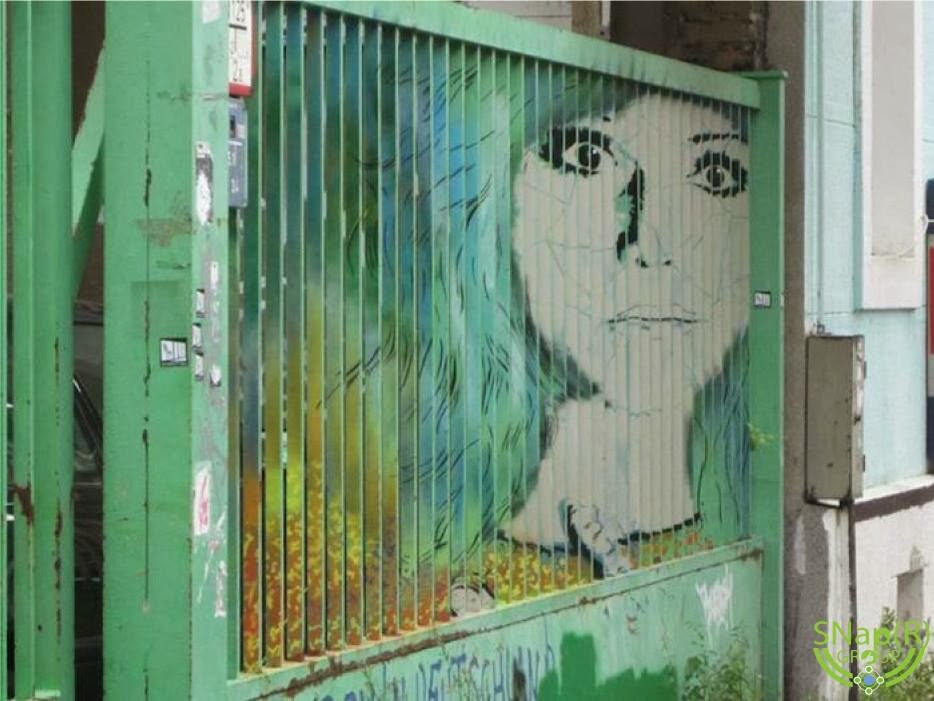 More Hidden Street Art on Fences by Zebrating