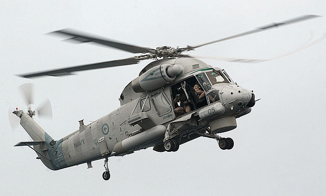 Helikopter Seasprite SH-2G