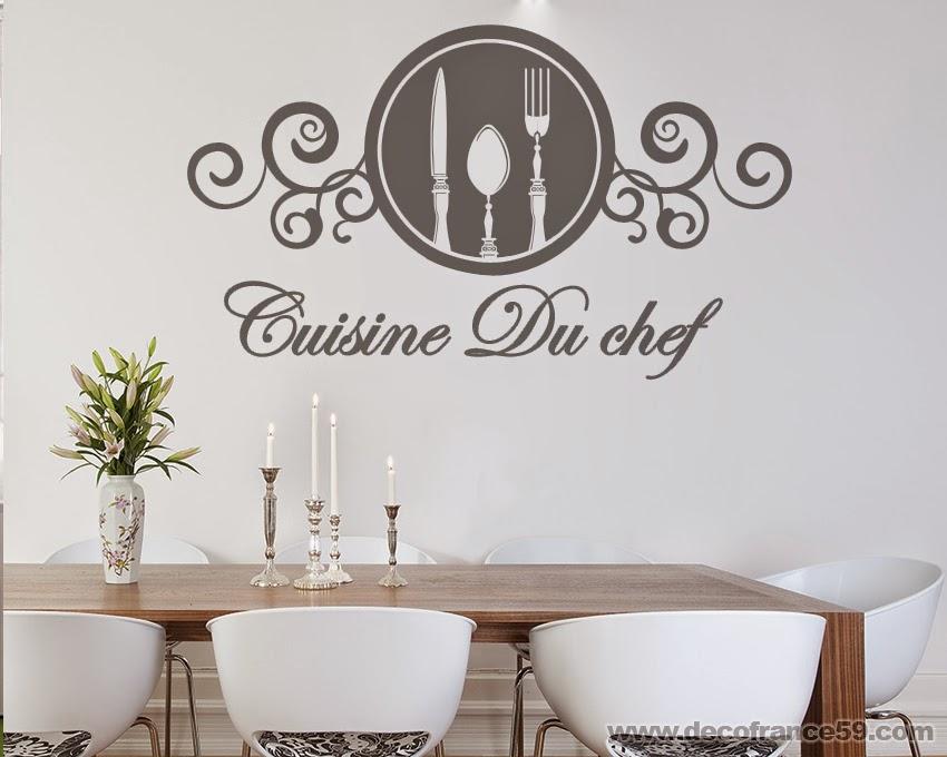 Decofrance59 vente en ligne de stickers muraux for Stickers cuisine originaux