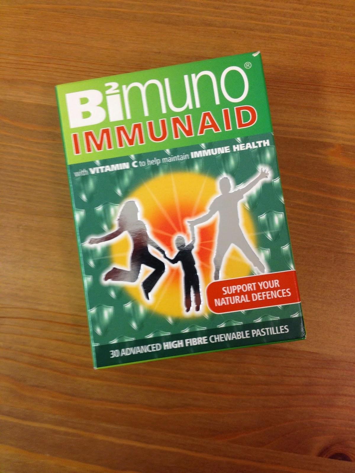 Review & Giveaway – Bimuno Immunaid Chewable Pastilles