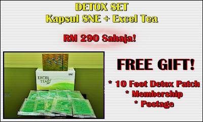 Kapsul SNE & Excel Tea