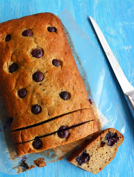 Blueberry Banana Bread-Soft and Moist Recipe