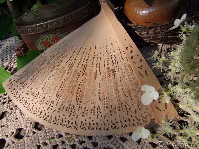 Sandelholz Fächer