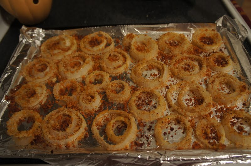Something Yummy for your Tummy!!: Low Fat Baked Onion Rings