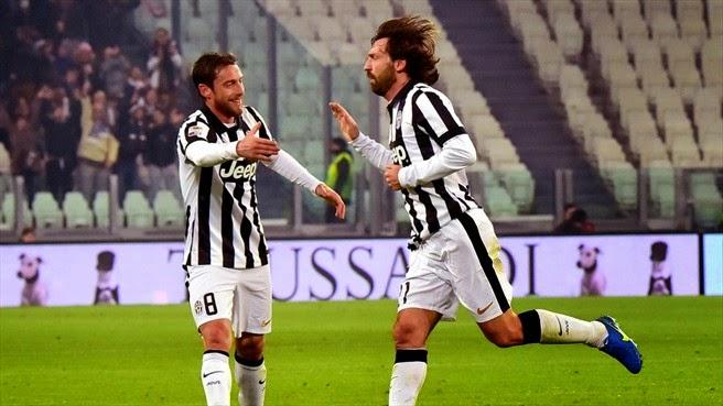 Serie A: Un magico Pirlo regala la vittoria alla Juve sull'Atalanta, risultato 2-1 a Torino
