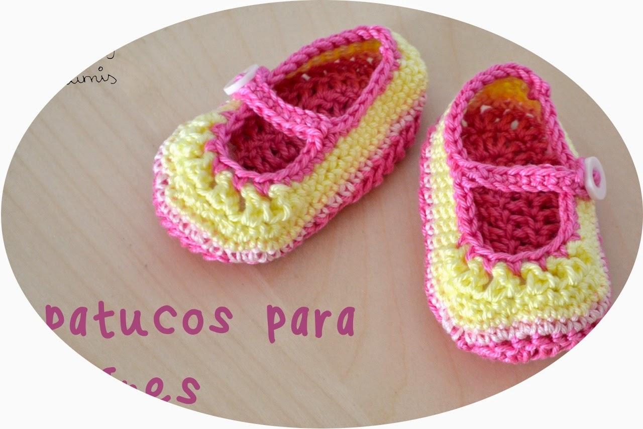 http://www.noagurumis.com/2014/04/patucos-bebe-ganchillo.html